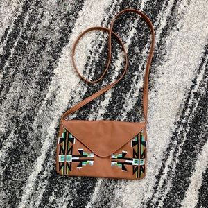 Southwest Embroidered Crossbody